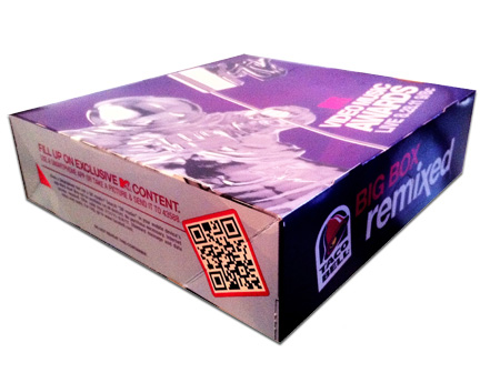 QR codes packaging consumer products