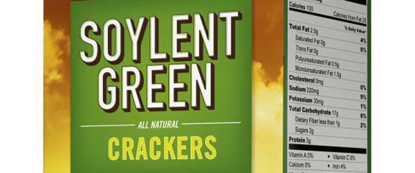 Soylent Green Collectable Crackers