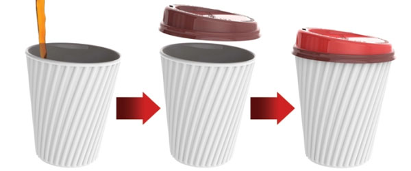 Smart Lids Change Color With Coffee Temperature