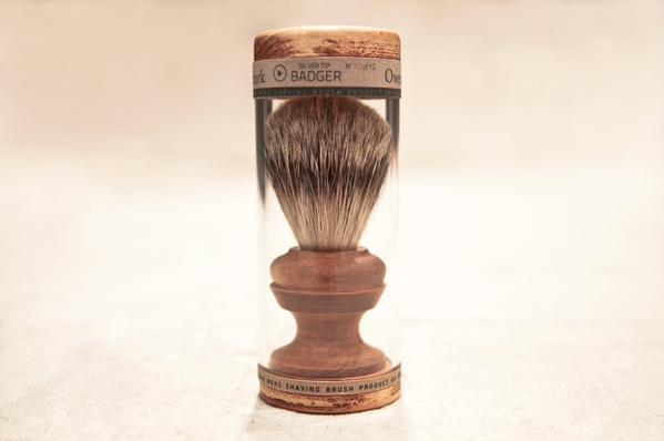 Silver Tip Badger Hair Brush