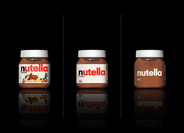 Nutella Minimalistic Packaging