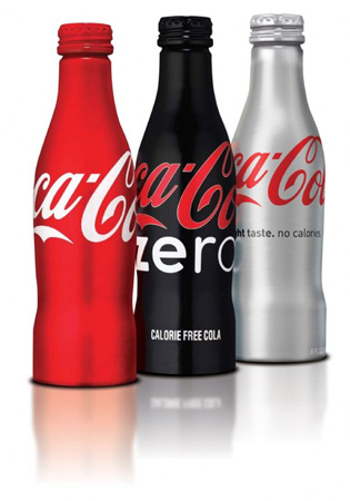 Coca Cola Aluminum Bottle