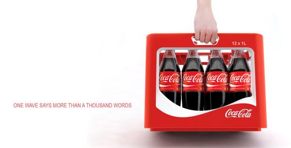 "Coca Cola Packaging – Design Awards Winner ""WAVE"""