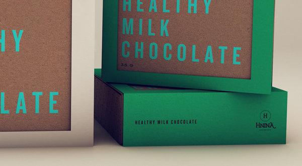 healthy chocolate packaging