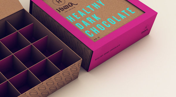 healthy chocolate packaging