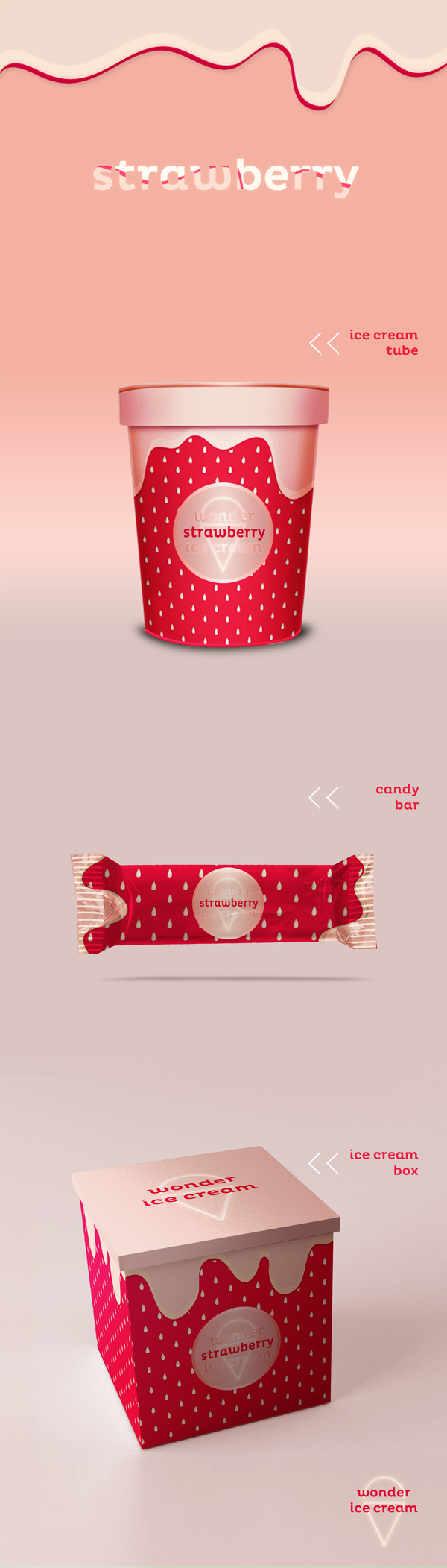 Strawberry_Ice-cream_Candy_Packaging