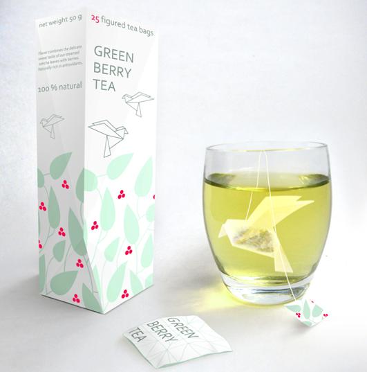 Origami Tea Bags