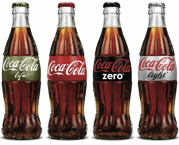 Coke Life Green Packaging Trend 2013