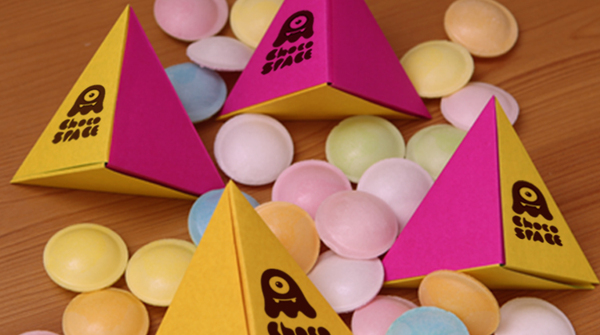 Choco Space Origami Packaging 2