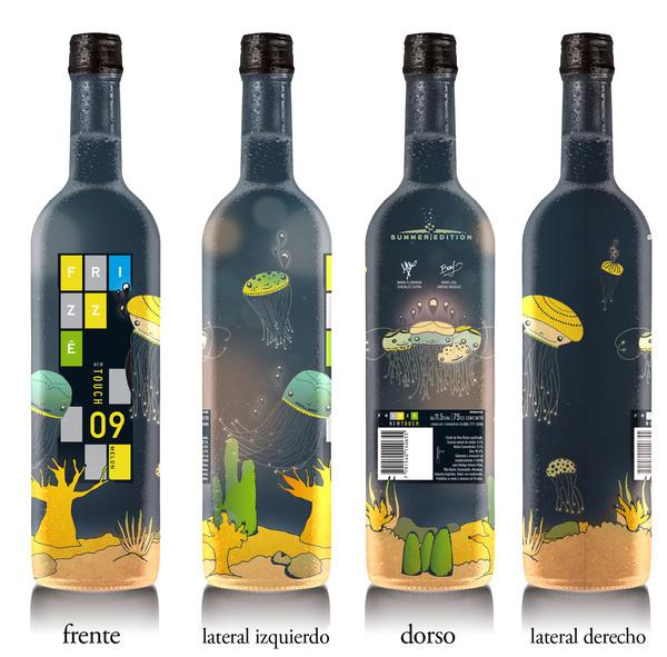 Festive Frizze Liquor Packaging Trend 2013