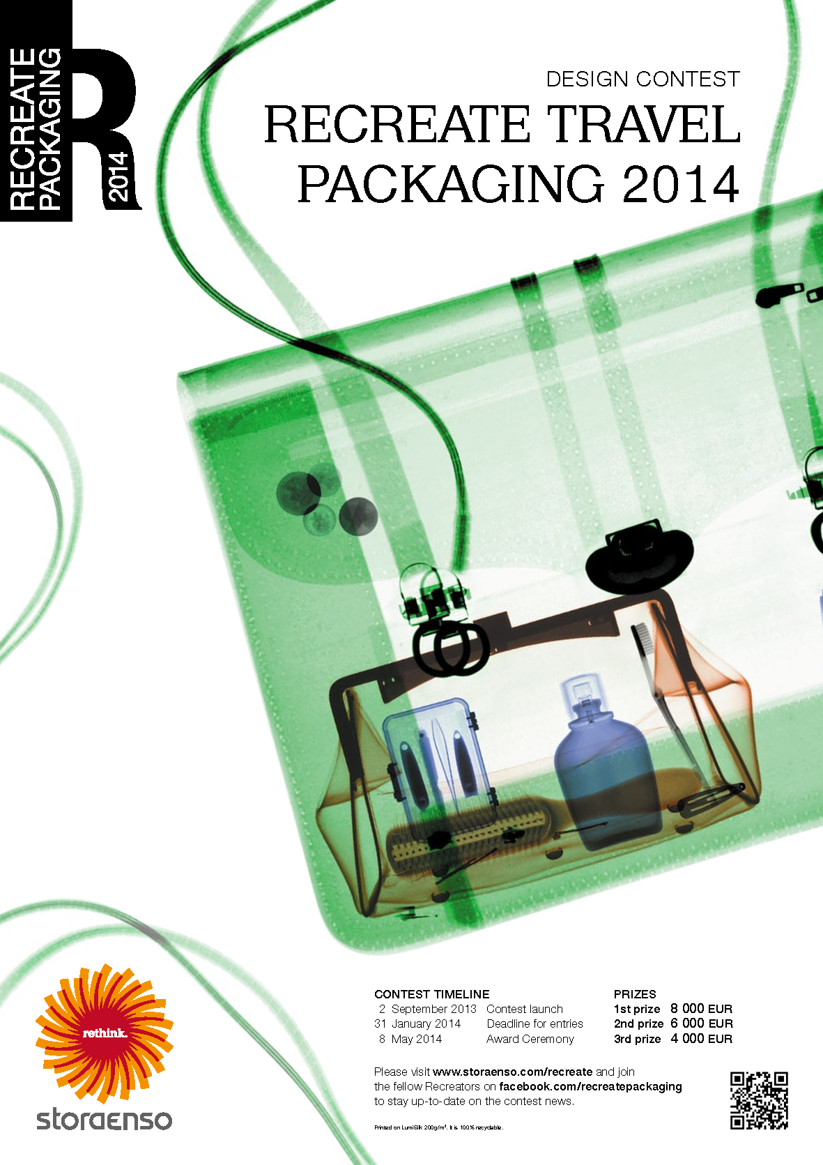 Recreate Travel Packaging Design Contest