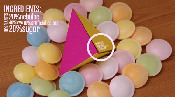 Choco Space Origami Packaging 4
