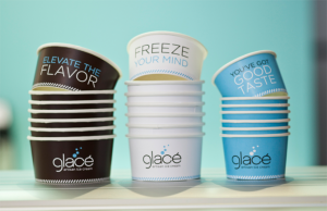 glace ice cream cups