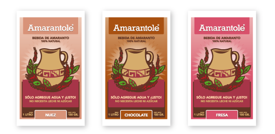 Amarantole: Simple Packaging for a Simply Wonderful Product