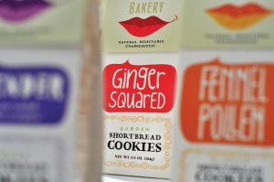 botanical bakery ginger squared packaging