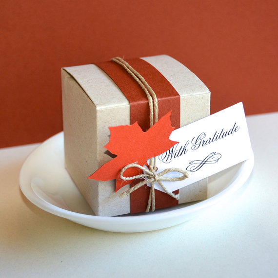 thanksgiving favor box