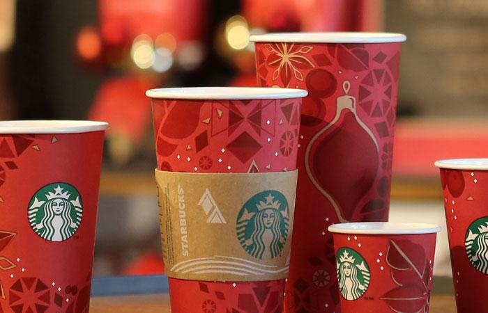 starbucks holiday packaging trends
