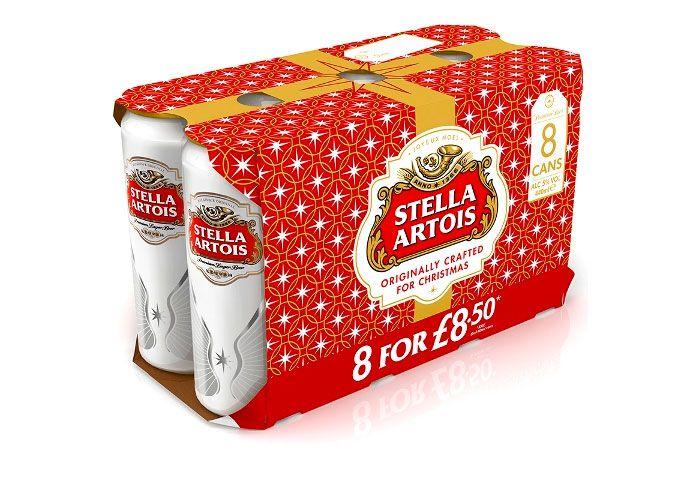 stella artois holiday packaging trends
