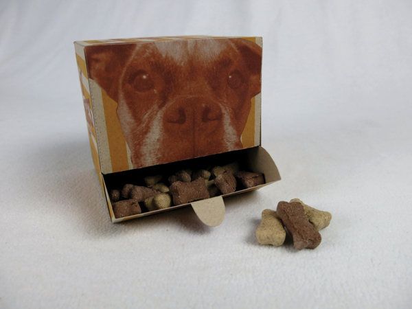 for beggers dog treats packaging