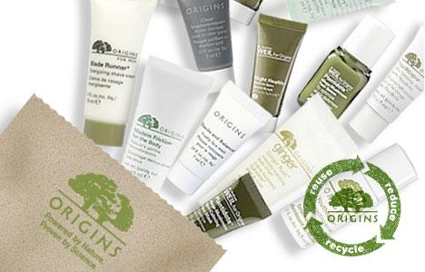 Origins Beauty Packaging