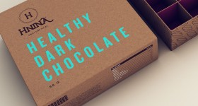 HNINA's Sustainable Vegan Chocolate Packaging