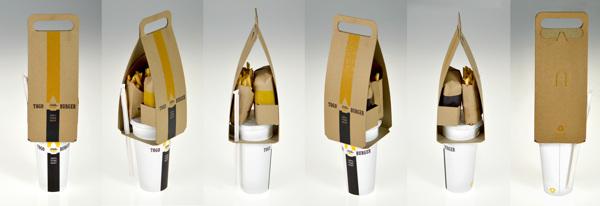 TOGO Burger: Useful Take-Out Packaging