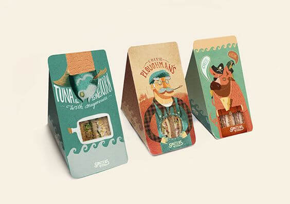 Sandwich Packaging Design Gallery - Packaging Insider