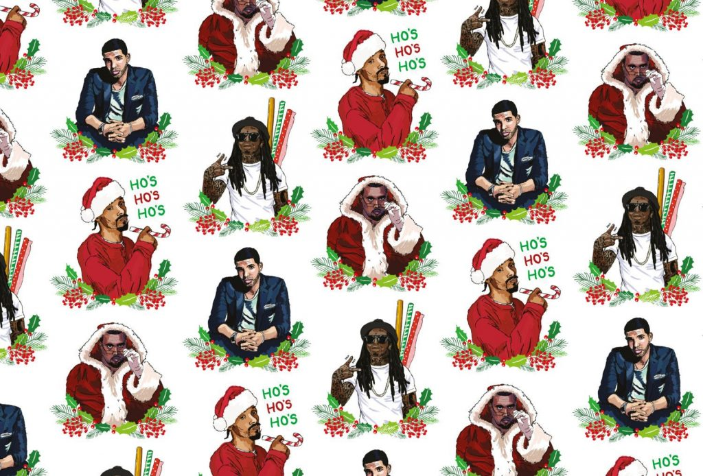 unique christmas wrapping paper - Funny Christmas Wrapping Paper