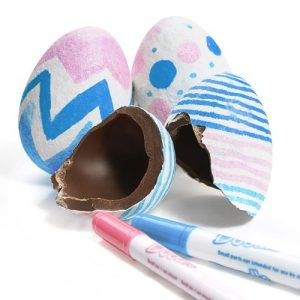 Easter Egg Packaging Chocolate Egg-Decorating Kits for easter eggs