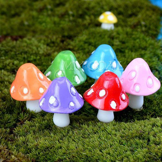 plant packaging plant mushroom ornaments