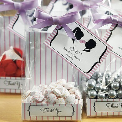 wedding favor packaging - wedding cello bags