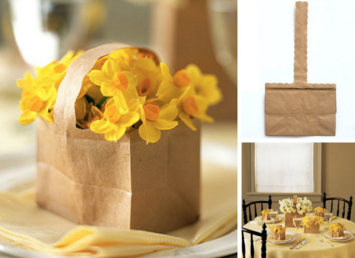 plant packaging - paper bag plant cover