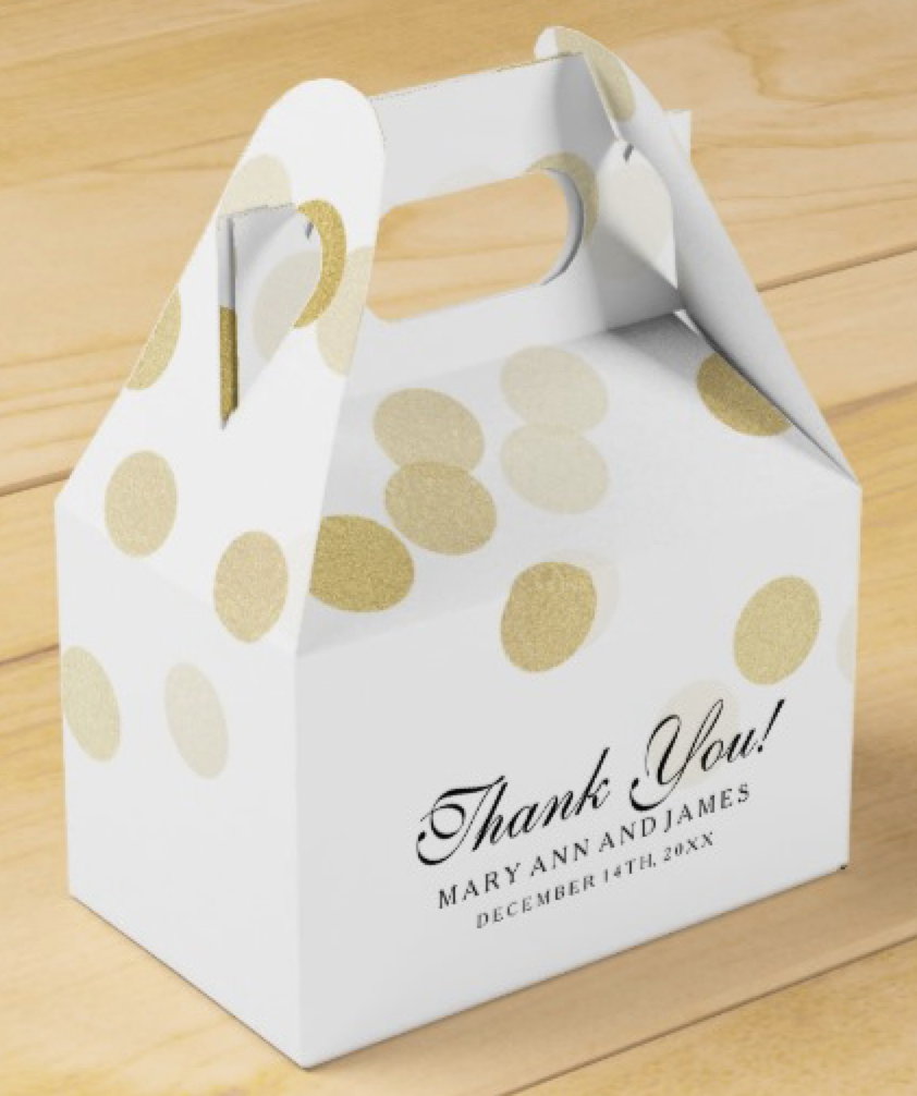 Wedding Favor Packaging Ideas