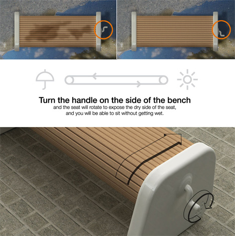Things every human needs but has never thought to make - the rolling bench