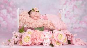 Wondrous Flower Basket For Newborn